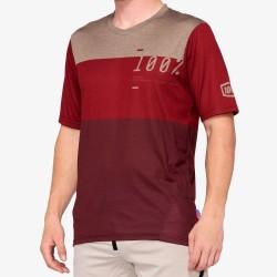 AIRMATIC Jersey Brick/Dark Red: Mărime - LG