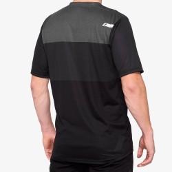 AIRMATIC Jersey Black/Charcoal: Mărime - SM