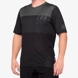 AIRMATIC Jersey Black/Charcoal: Mărime - LG