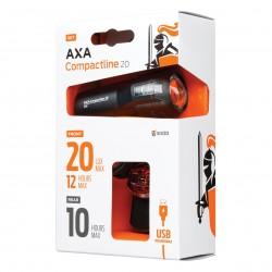 Far + stop AXA Compactline 20 Lux Battery