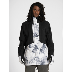 Geaca Armada Oden Insulated Jacket BLACK/WHITEWATER L