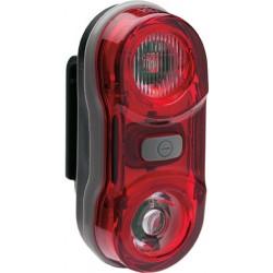 Far BIKEFUN TWIN spate 2 LED-uri roşii - JY-596
