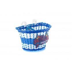 Cos Fata Plastic KIDZAMO Alb/Albastru