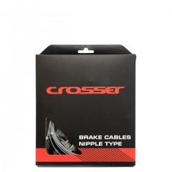 Cablu frana + Camasa CROSSER - Set 2*1