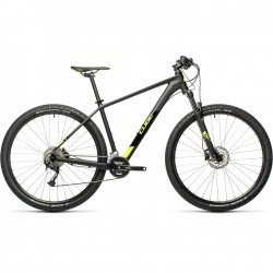 BICICLETA CUBE AIM 29 L EX Black Flashyellow 2021