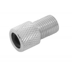 Adaptor valva Dunlop/Presta/Schrader aluminiu