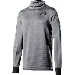 DEFEND THERMO HOODED JERSEY [STL GRY]: Mărime - L