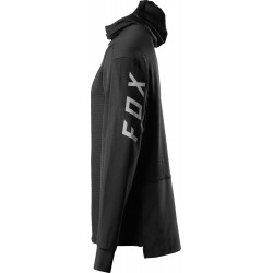 DEFEND THERMO HOODED JERSEY [BLK]: Mărime - M