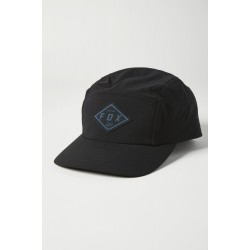 FOX BADGE 5 PANEL HAT [BLK]: Mărime - OneSize