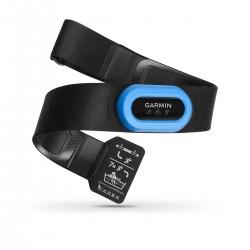 Centura de puls pentru triatlon Garmin HRM Tri, Culoare: Blue