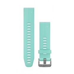 Curea Garmin Quickfit 20 silicon albastru intens Fenix 5S/6S, Culoare: Light Blue