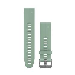 Curea Garmin Quickfit 20 silicon grayed jade fenix 5S, 6S, Culoare: Grey