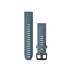 Curea Garmin Quickfit 20 silicon lakeside blue fenix 5S, 6S, Culoare: Blue
