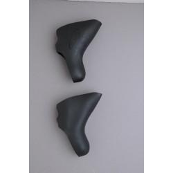 HÜDZ brake / shift lever grip rubber black for Campagnolo Ergo V2 medium / soft - Campagnolo g2