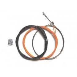 Cablu frana + Camasa IXOW Extraslide (Mtb/road) - Negru