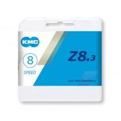 Lanţ KMC Z8.3 8s MTB 1/2 x 3/32 116L (Z72)