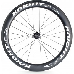 KNIGHT 65 impeller, HR, DT 240S Road Carb.-Cl, black, 24 well, 10 / -11-fold white sticker, Shimano