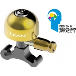 LEZYNE Classic Brass Fahrradklingel 21 g / S / gold-black