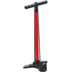 LEZYNE bicycle shed air pump Macro Floor Drive Digital red