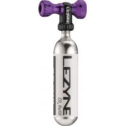 LEZYNE CO2 bicycle pump Control Drive blue shiny 16g