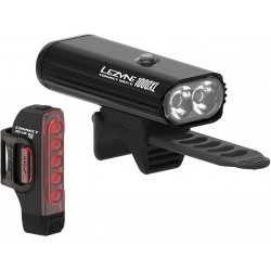 LEZYNE Connect Drive Pro 1000XL (Front) / Strip Connect (rear) Pair