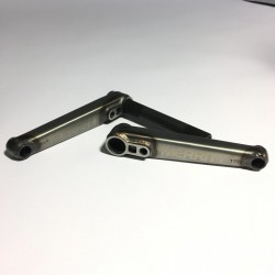 MERRITT crankset Battle 165mm, 22mm axle raw,