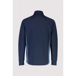 Mid Layer Mons Royale Nevis Wool Fleece Jacket Navy/Ink L