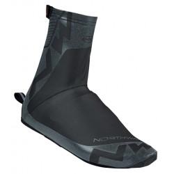 Husă pantofi NORTHWAVE ACQUA SUMMER rezistent la apă M (38-40) reflectorizant negru