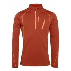 Humany 1/4 Zip Top Cinnamon S