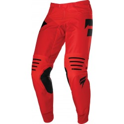 3LACK LABEL RACE  PANT [RED/BLACK]: Mărime - 36