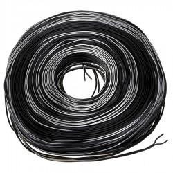 Cablu Dublu pentru Dinam  Negru