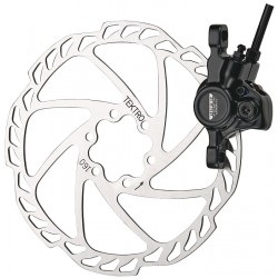 Frână Disc TEKTRO AURIGA COMP 180 mm rotor faţă negru