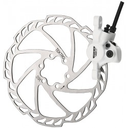 Frână Disc TEKTRO AURIGA COMP 180 mm rotor faţă alb