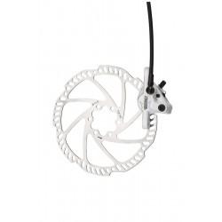 Frână disc TEKTRO ORION faţă alb 180 mm rotor alb