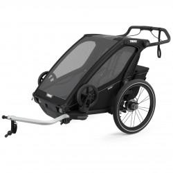 Carucior multisport Thule Chariot Sport 2, Midnight Black