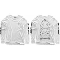 WETHEPEOPLE longsleeve Archtiect Bullet white / L